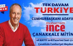 Biga CHP Çanakkale'ye Çıkarma Yapacak