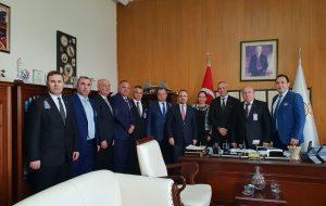 Biga TSO heyeti Ankara'da üst düzey ziyaretler gerçekleştirdi