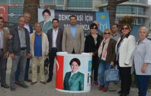 İYİ Parti'de 100 bin imza atağı