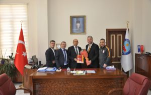 Galatasaraylılar Protokol Ziyaretlerinde