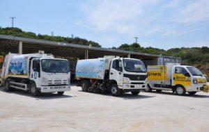 Karabiga Belediyesine yeni hizmet araçları