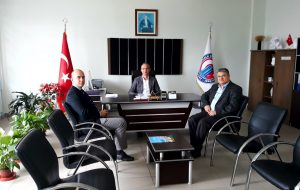 KOSGEB Çanakkale Müdürü Barış ALURAT Biga Meslek Yüksekokulunu Ziyaret Etti
