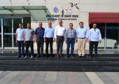 CHP ADAYI ERKEK'TEN BİGA TSO'YA ZİYARET