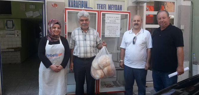 MHP Teşkilatından Askıda Ekmek Kampanyası