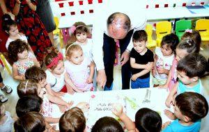 Miniklerden Başkan Işık'a sürpriz doğum günü