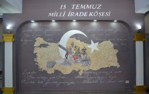 15 Temmuz Milli İrade Köşesi Açıldı