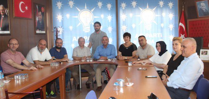Ak Parti Biga İlçe Başkanı Ahmet Şahin'in Basın Açıklaması