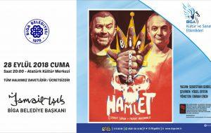 AKM'de yeni sezonun ilk oyunu: Bir Baba Hamlet