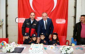Biga'da, Türk İtfaiyesi'nin 304'üncü Yıldönümü Kutlandı