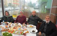 MIKICI AİLESİNDEN BİGASPOR'A KAHVALTI