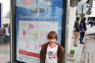Çocukların Cumhuriyeti bilbordlarda