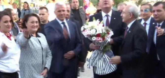 Kılıçdaroğlu Karabiga'da Vatandaşlarla Buluştu