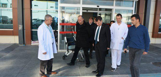 5 ay önce açılan hastaneden skandal görüntüler