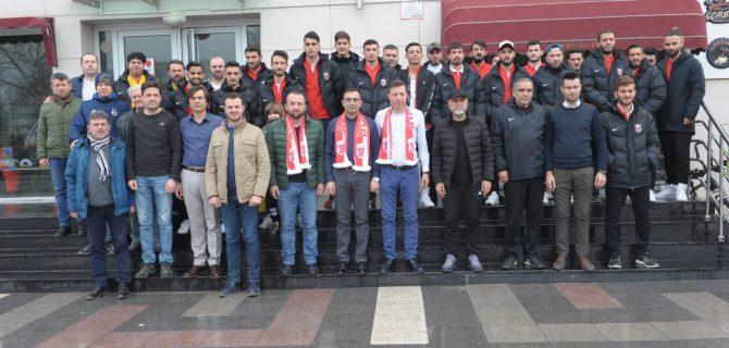 Erdoğandan Adaspor'a morel kahvaltısı