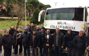 Biga Ziraat Odasından Teknik Gezi