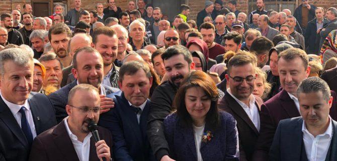 Ak Parti Karabiga Seçim Kordinasyon Merkezi Açıldı