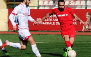 Dardanelspor'a Ceza Yolda