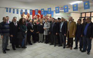 CHP heyeti iyi Parti yönetimi ile buluştu