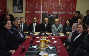 AK Parti Grup Başkanvekili Turan, MHP Biga İlçe Teşkilatını ziyaret etti
