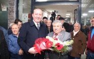 Başkan Işık'a Yeniceköy'de coşkulu karşılama
