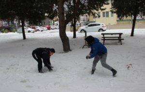 Biga'da Okullara Kar Tatili