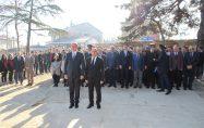 ÇANAKKALE DENİZ ZAFERİ'NİN 104. YILDÖNÜMÜ BİGA'DA TÖRENLERLE KUTLANDI