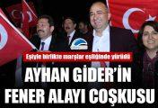 Ayhan Gider'in Fener Alayı coşkusu