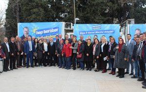 İYİ Parti İl Genel Meclis adaylarını tanıttı