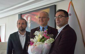 Başkan Erdoğan'dan, polis teşkilatına kutlama ziyareti