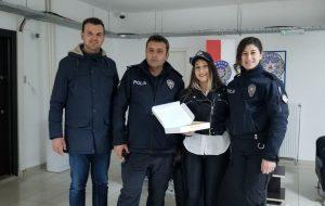 AK Gençler'den Polis Günü'nde Ziyaret