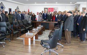 Milli Eğitim'den Erdoğan'a Ziyaret