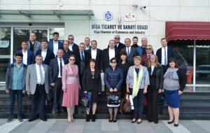 BULGAR-TÜRK İŞ ADAMLARINDAN BİGA TSO'YA ZİYARET