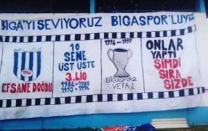 Koskaca Çanakkale'ye Bakan Biga,  Bir Bigaspor'a Bakamadı!