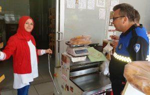 Biga Zabıtası'ndan Fırınlara Ramazan Denetimi