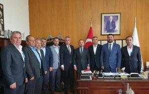 Ziraat Odası Başkanlarından AK Parti Çanakkale Milletvekili Turan'a Ziyaret
