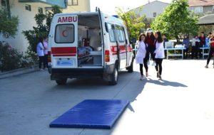 Biga'da Öğrenciler, Eğitimlerini Ambulansta Yapacak