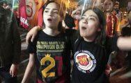 Biga'da Galatasaray Coşkusu