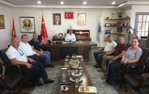 BİGA TSO'DAN BELEDİYE BAŞKANI'NA ZİYARET