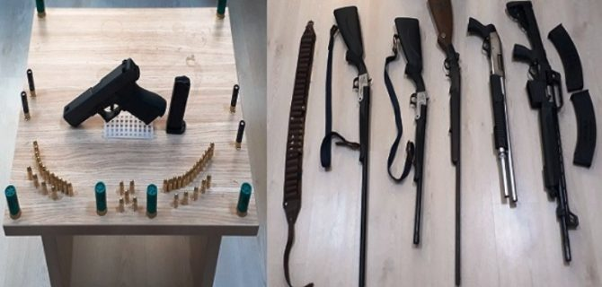 Özel Harekat Bastı: Suikast Silahı Çıktı