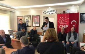 CHP BİGA'DA TEK TOPLANTI İKİ ADAY