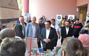 Başkan Erdoğan'dan Topluluk Tanıtım Stantlarına Ziyaret