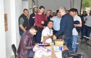 Biga Belediye Personeli Sağlık Taramasından Geçti