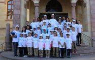 Öğrencileri Erkan Bileni makamında Ziyaret Ettiler