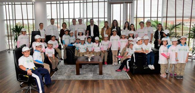 Eko Okul Timinden Başkan Erdoğan'a Anlamlı Ziyaret