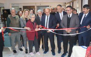 Halk Eğitim Merkezi tarafından el sanatları sergisi açıldı.
