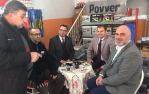 Başkan Erdoğan Sanayi Sitesi Esnafını Ziyaret Etti