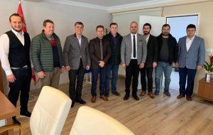 BİSİAD'dan Emniyet Müdürü Şafak Özkan'a ziyaret