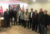 MHP'den Biga Emniyet Müdürüne Ziyaret