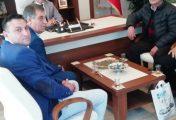 Marmara Tur koop Yönetimi Emniyet müdürü Özkan'a ziyaret