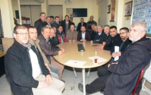 AK Parti Ahmet Şahin'den muhtarlara ziyaret